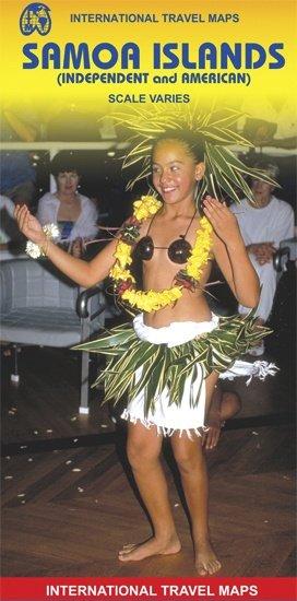 Samoa | landkaart, autokaart 9781553413875  ITM   Landkaarten en wegenkaarten Pacifische Oceaan (Pacific)