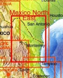 Mexico North East  | landkaart, autokaart 1:1.000.000 9781553415923  ITM   Landkaarten en wegenkaarten Mexico behalve Yucatan