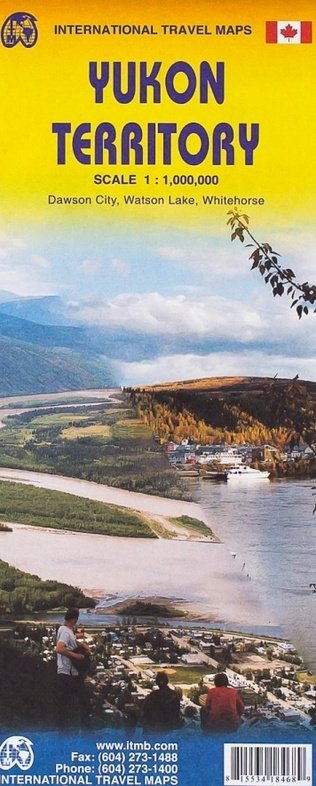 Yukon | landkaart, autokaart 1:1.000.000 9781553418443  ITM   Landkaarten en wegenkaarten West-Canada, Rockies