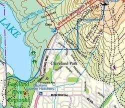Vancouver Northshore 1:40.000 9781553418832  ITM Wandelkaarten Canada  Wandelkaarten West-Canada, Rockies