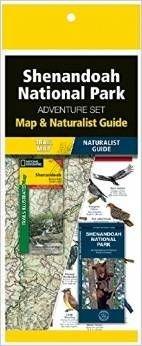 Shenandoah National Park Adventure Set 9781583559161  Waterford Press Map & Naturalist Guide  Natuurgidsen, Wandelkaarten New York, Pennsylvania, Washington DC