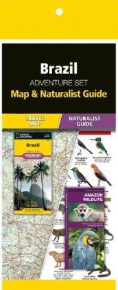 Brazil Adventure Set 9781583559239  Waterford Press Map & Naturalist Guide  Landkaarten en wegenkaarten, Natuurgidsen Brazilië