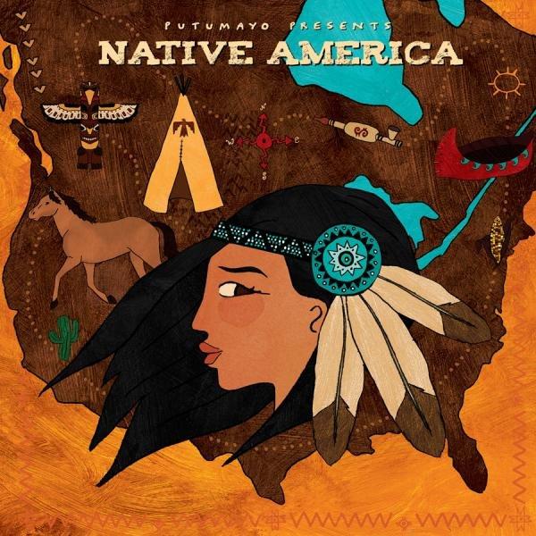 Native America 9781587593529  Putumayo World Music CD  Muziek Noord-Amerika