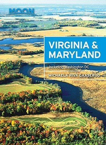 Moon Handbook Virginia & Maryland   reisgids 9781631213953  Moon   Reisgidsen New York, Pennsylvania, Washington DC