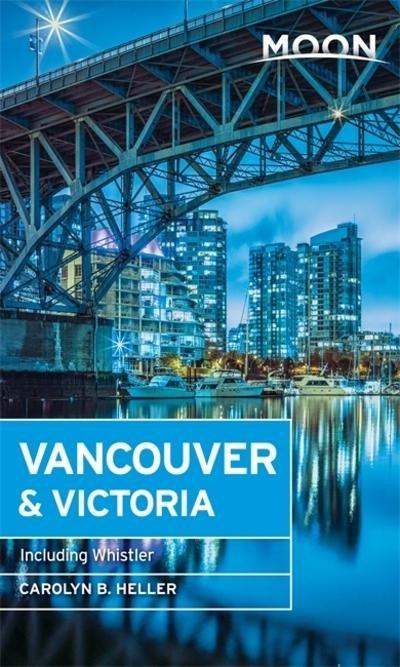 Moon Handbook Vancouver 9781631215766  Moon   Reisgidsen West-Canada, Rockies