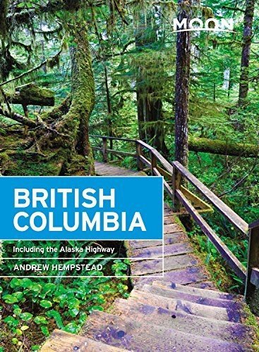 Moon Handbook British Columbia | reisgids 9781640491878  Moon   Reisgidsen West-Canada, Rockies