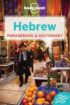 Hebrew Lonely Planet phrasebook 9781741791389  Lonely Planet Phrasebooks  Taalgidsen en Woordenboeken Israël, Palestina