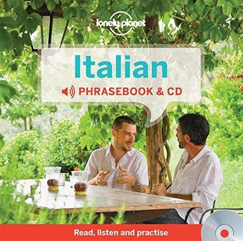 Italian Phrasebook (with CD) 9781743603703  Lonely Planet Phrasebooks  Taalgidsen en Woordenboeken Italië