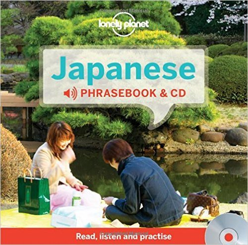 Japanese Phrasebook (with CD) 9781743603734  Lonely Planet Phrasebooks  Taalgidsen en Woordenboeken Japan