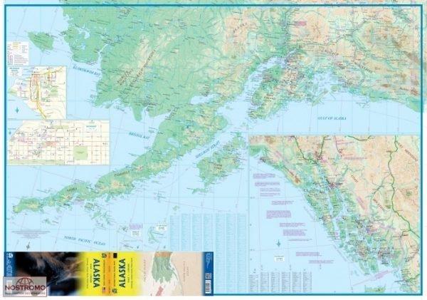 Alaska Travel Ref. map | landkaart, autokaart 1:1.500.000 9781771290036  ITM   Landkaarten en wegenkaarten Alaska