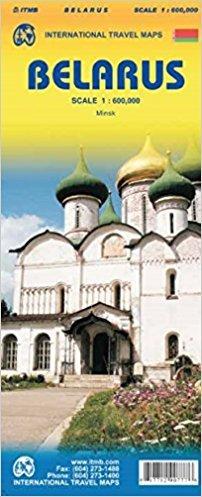 Belarus 1:600.000, kaart van Wit-Rusland | landkaart, autokaart 9781771290777  ITM   Landkaarten en wegenkaarten Wit-Rusland