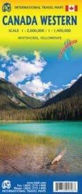 Western Canada  | landkaart, autokaart 1:2.000.000/1.400.000 9781771291606  ITM   Landkaarten en wegenkaarten West-Canada, Rockies