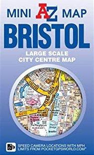 Bristol Mini Map 9781782570820  Geographers A-Z Map Co Ltd Street-by-street  Stadsplattegronden Zuidwest-Engeland