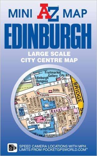 Edinburgh A-Z Map 9781782570936  Geographers   Stadsplattegronden Edinburgh