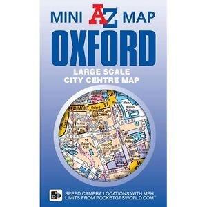 A-Z Oxford mini map 9781782571032  Geographers Street-by-street  Stadsplattegronden Midden- en Oost-Engeland