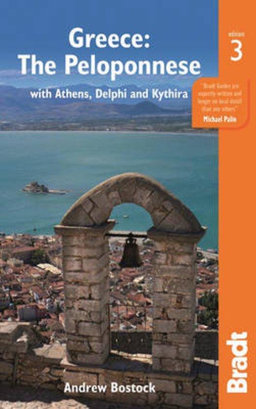 The Bradt Guide to the Peloponnese | reisgids * 9781784770112  Bradt   Reisgidsen Peloponnesos