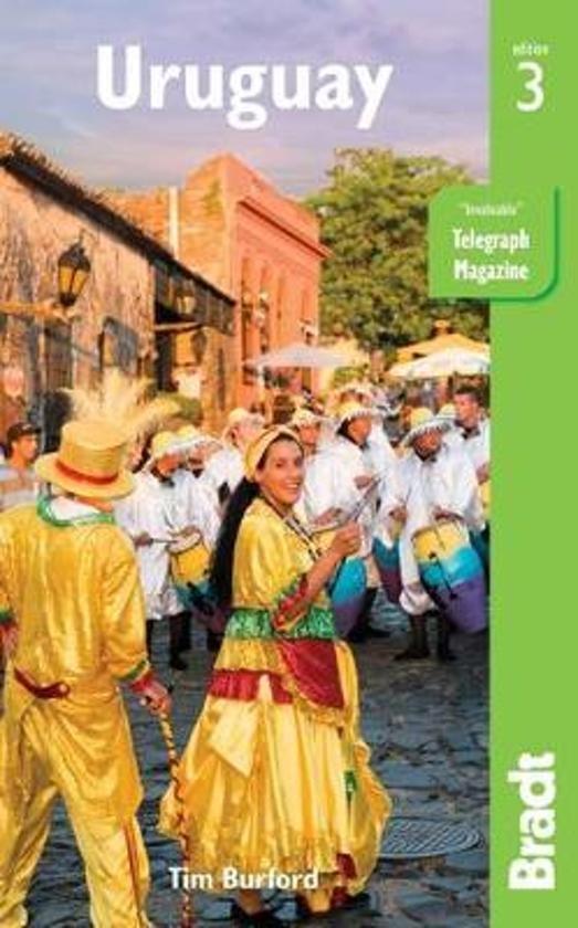 The Bradt Guide to Uruguay | reisgids 9781784770594  Bradt   Reisgidsen Paraguay, Uruguay