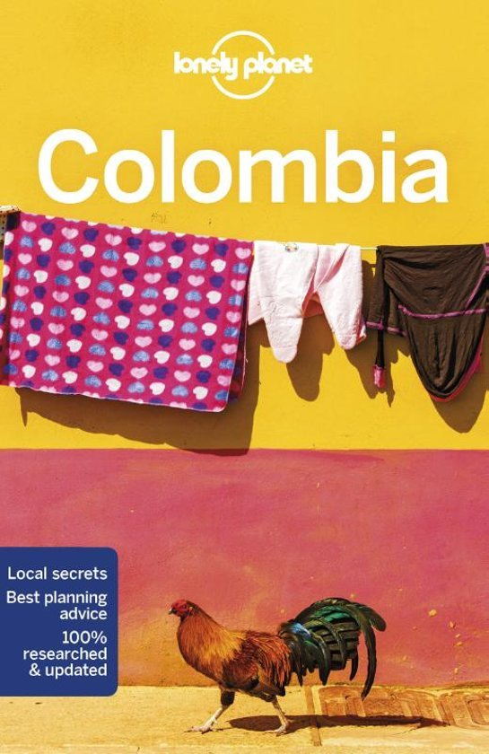 Lonely Planet Colombia 9781786570611  Lonely Planet Travel Guides  Reisgidsen Colombia