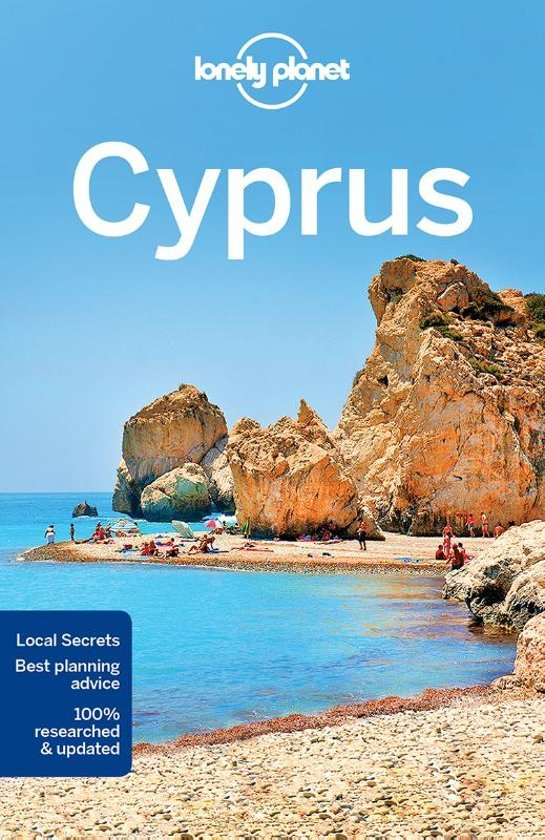 Lonely Planet Cyprus 9781786573490  Lonely Planet Travel Guides  Reisgidsen Cyprus