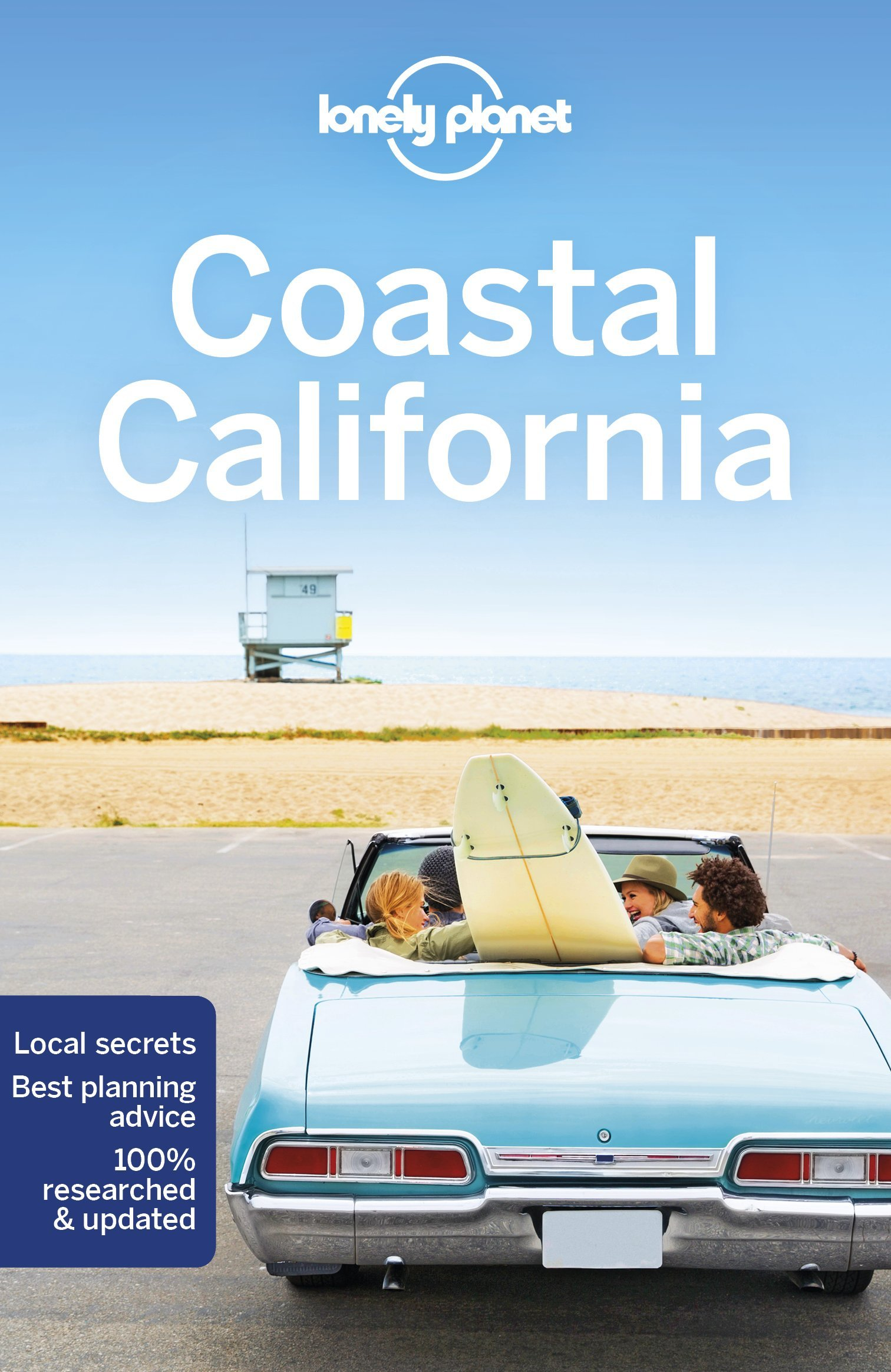 Lonely Planet Coastal California 9781786573605  Lonely Planet Travel Guides  Reisgidsen California, Nevada