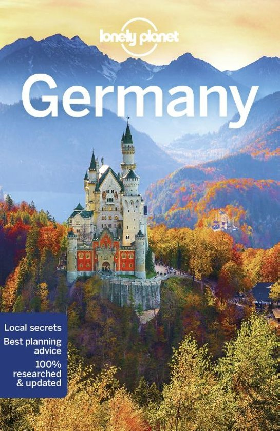 Lonely Planet Germany 9781786573766  Lonely Planet Travel Guides  Reisgidsen Duitsland