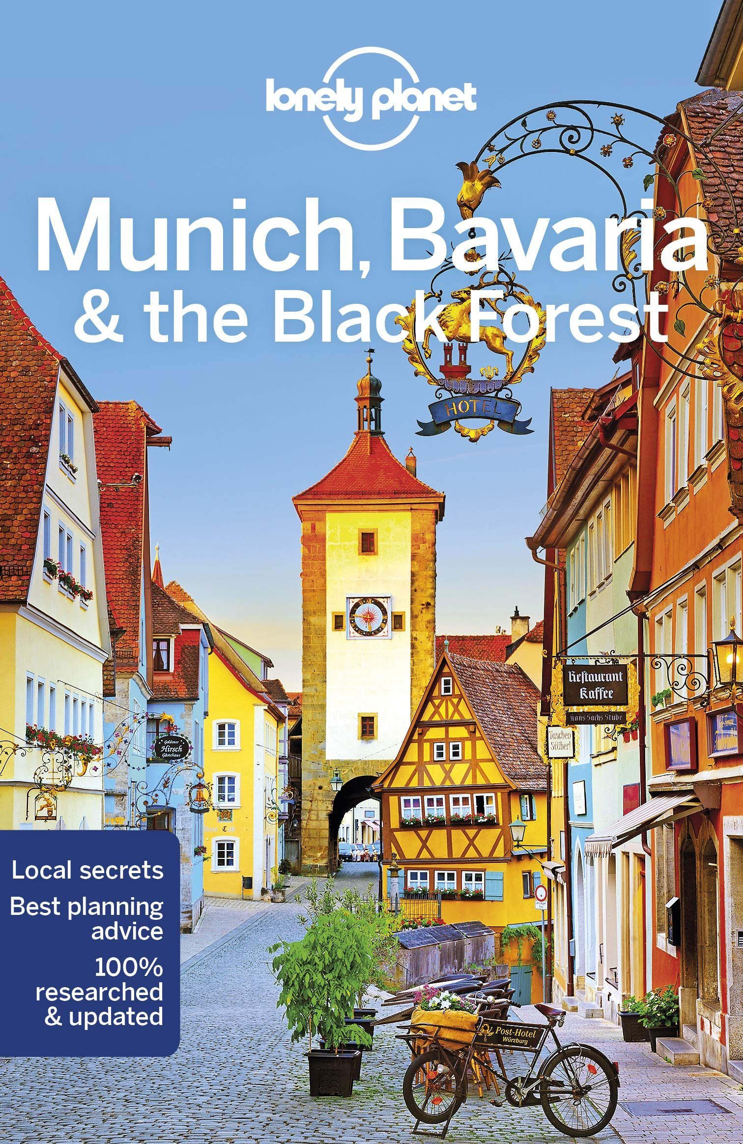 Lonely Planet Munich, Bavaria + The Black Forest 9781786573773  Lonely Planet Travel Guides  Reisgidsen Duitsland