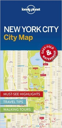 New York | Lonely Planet City Map 9781786574145  Lonely Planet LP Maps  Stadsplattegronden New York, Pennsylvania, Washington DC