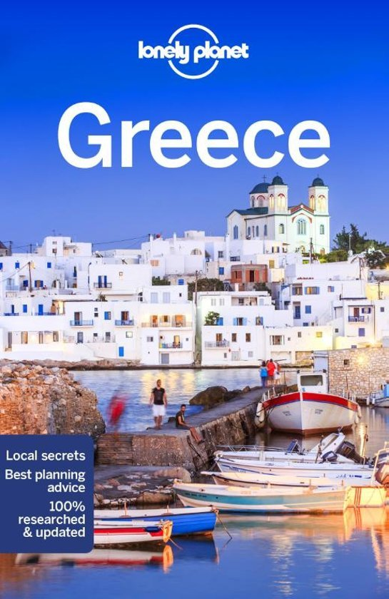 Lonely Planet Greece 9781786574466  Lonely Planet Travel Guides  Reisgidsen Griekenland