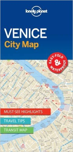 Venice | Lonely Planet City Map 9781786575005  Lonely Planet LP Maps  Stadsplattegronden Zuidtirol, Dolomieten, Friuli, Venetië, Emilia-Romagna