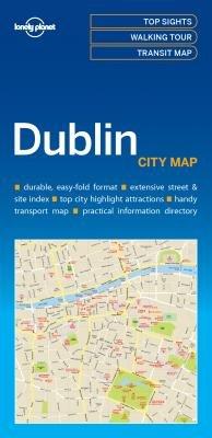 Dublin   Lonely Planet City Map 9781786575081  Lonely Planet LP Maps  Stadsplattegronden Ierland Noord- en Oost, Dublin