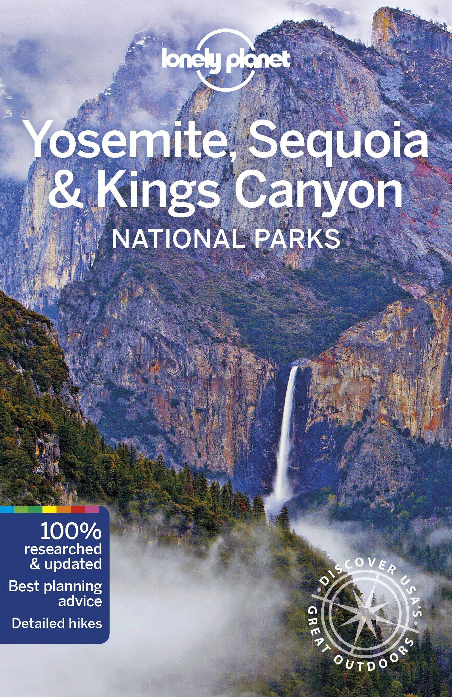 Lonely Planet Yosemite National Park Guide 9781786575951  Lonely Planet NP Guides  Reisgidsen California, Nevada