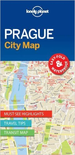 Prague | Lonely Planet City Map Praag 9781786577863  Lonely Planet LP Maps  Stadsplattegronden Tsjechië
