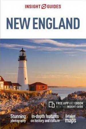 Insight Guide New England 9781786717825  APA Insight Guides/ Engels  Reisgidsen New England