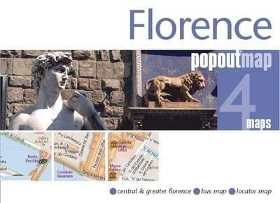 Florence pop out map | stadsplattegrondje in zakformaat 9781845878641  Grantham Book Services PopOut Maps  Stadsplattegronden Toscane, Florence