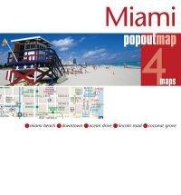 Miami pop out map 9781845879174  Insideout PopOut Maps  Stadsplattegronden Florida