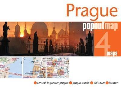 Prague pop out map 9781845879341  Insideout PopOut Maps  Stadsplattegronden Tsjechië