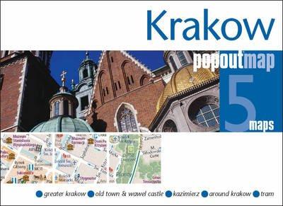 Krakow (Krakau) pop out map | stadsplattegrondje in zakformaat 9781845879839  Grantham Book Services PopOut Maps  Stadsplattegronden Polen
