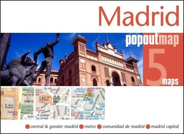 Madrid pop out map 9781845879969  Insideout PopOut Maps  Stadsplattegronden Madrid