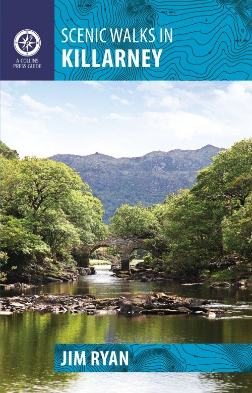 Scenic Walks in Killarney 9781848891463 Jim Ryan The Collins Press   Wandelgidsen Munster, Cork & Kerry