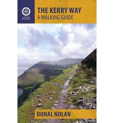 The Kerry Way 9781848892354 Donal Nolan The Collins Press   Meerdaagse wandelroutes, Wandelgidsen Munster, Cork & Kerry
