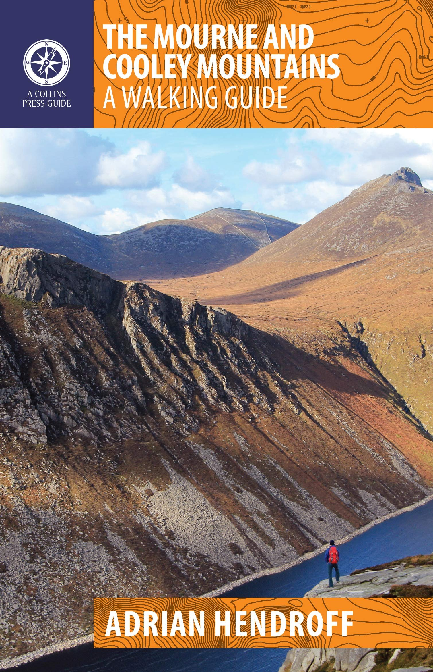 The Mourne and Cooley Mountains 9781848893467 Adrian Hendroff The Collins Press   Wandelgidsen Ierland Noord- en Oost, Dublin