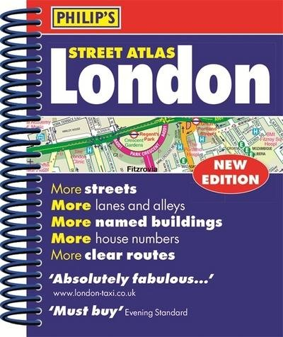 London Street Atlas POCKET SPIRAL 9781849074537  Philips   Stadsplattegronden Londen