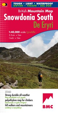 Snowdonia South | wandelkaart 1:40.000 9781851374694  Harvey Maps   Wandelkaarten Wales