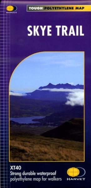 Skye Trail | wandelkaart 1:40.000 9781851375172  Harvey Maps   Meerdaagse wandelroutes, Wandelkaarten Skye & the Western Isles
