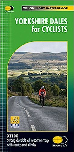 Yorkshire Dales Cycling Map 1:100.000 9781851375578  Harvey Maps   Fietskaarten Northumberland, Yorkshire Dales & Moors, Peak District, Isle of Man