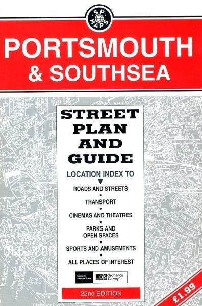 Portsmouth & Southsea 9781852823832  Service Publications Ltd.   Stadsplattegronden Zuidwest-Engeland