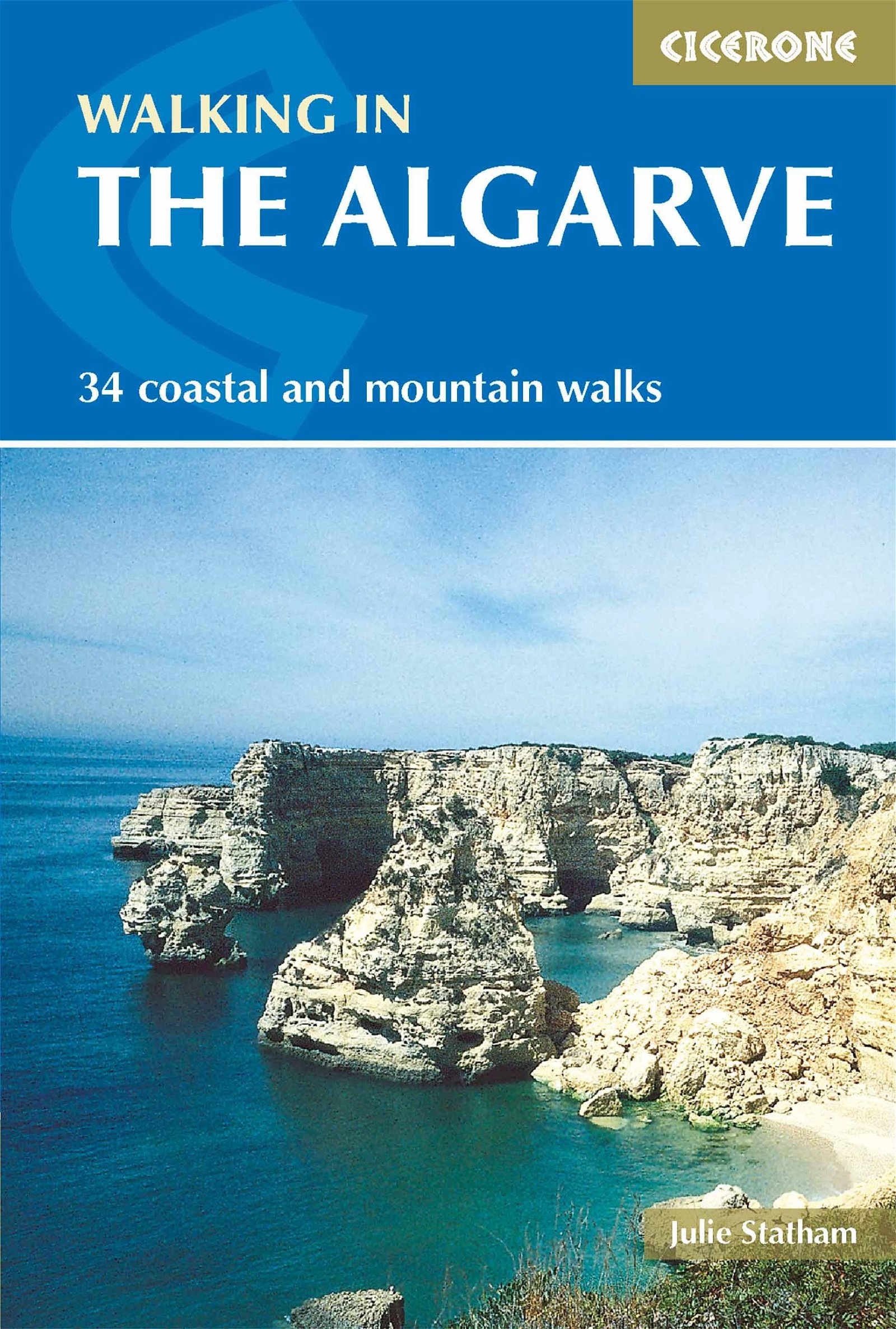 Walking in the Algarve 9781852844370 June Parker Cicerone Press   Wandelgidsen Zuid-Portugal, Algarve