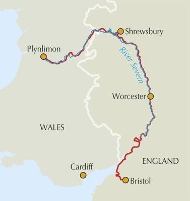 The Severn Way | wandelgids 9781852846855  Cicerone Press   Meerdaagse wandelroutes, Wandelgidsen Midlands, Cotswolds, Oxford, Wales