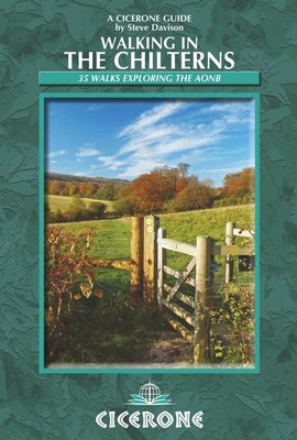 Walking in the Chilterns 9781852847005 Steve Davison Cicerone Press   Wandelgidsen Zuidoost-Engeland