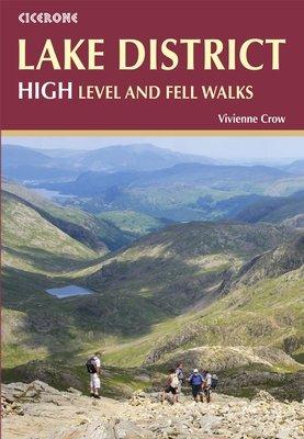 Lake District: High Level and Fell Walks | wandelgids 9781852847357 Vivienne Crow Cicerone Press   Wandelgidsen Noord-Engeland